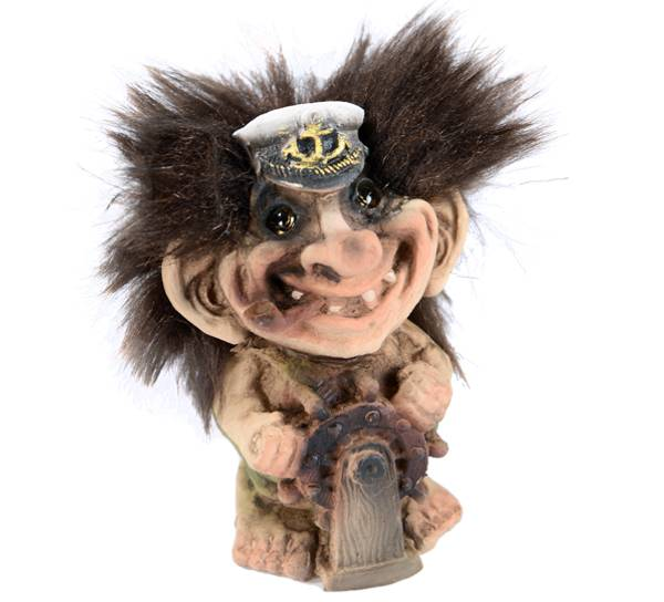 Bilde av Troll, skipper (Troll nr. 022)
