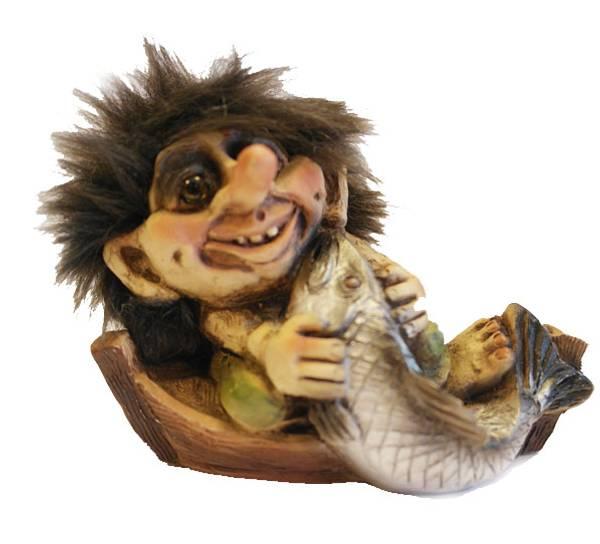 Bilde av Troll i fiskebåt  (Troll nr. 028)