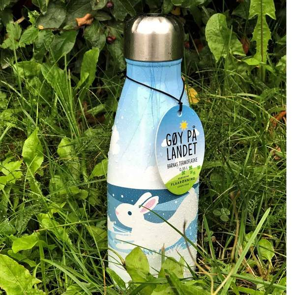 Bilde av Termoflaske, haren hopper