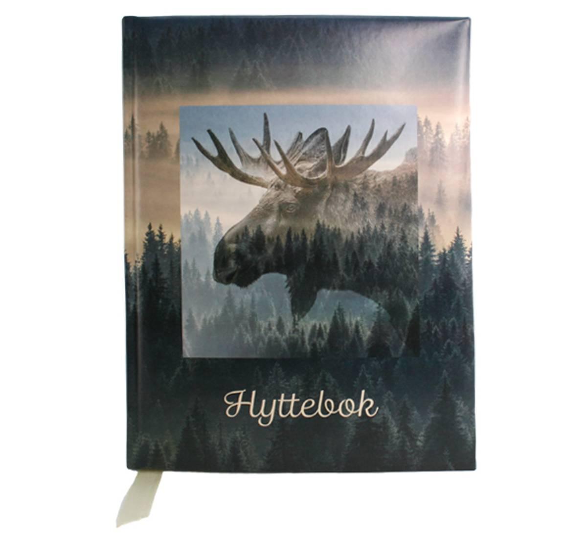 Hyttebok  elg  A4