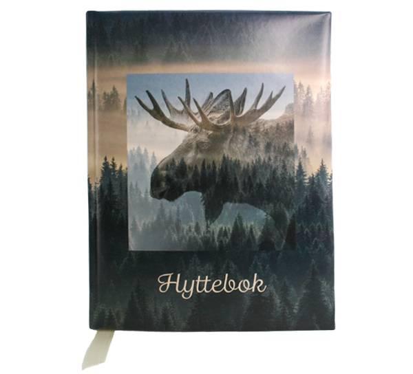 Image of Hyttebok  elg  A4