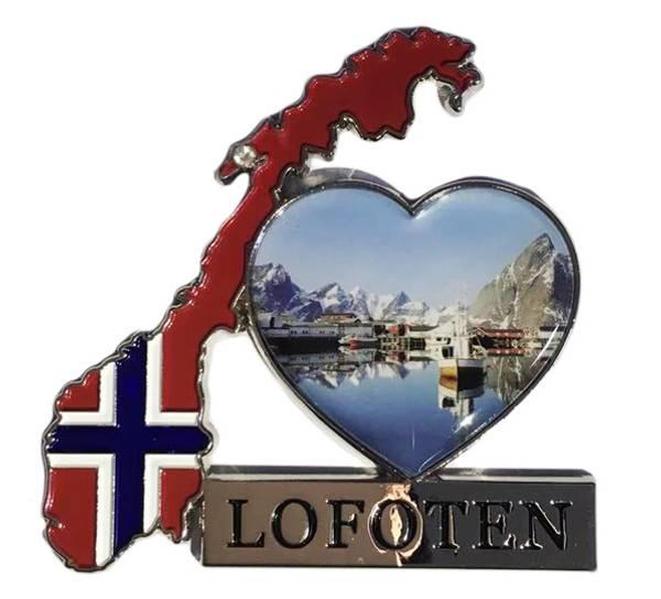 Bilde av Magnet, norgeskart Lofoten