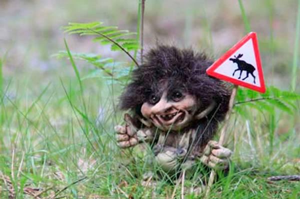 Bilde av Troll med elgskilt (Troll nr. 057)