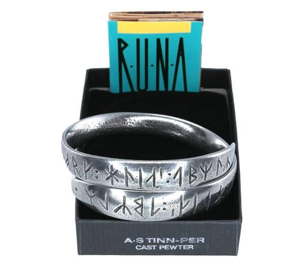 Bilde av Armring med runer