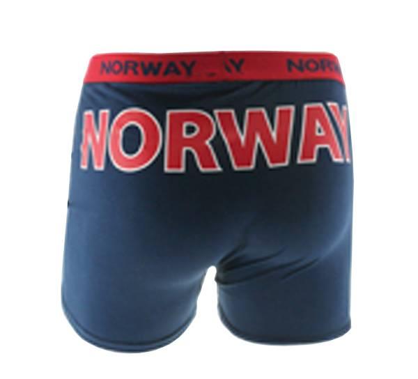 Bilde av Boxershorts Norway blå-rød