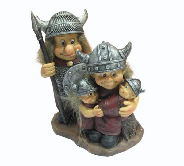 Bilde av Vikingfamilie