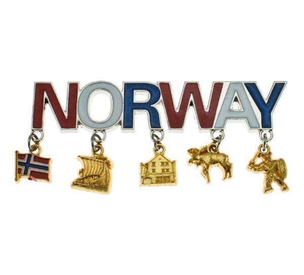 Bilde av Magnet Norway m. anheng