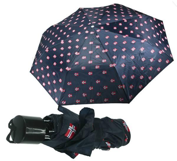 Bilde av Paraply med flagg